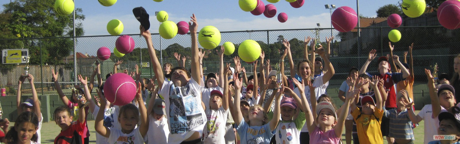 BOOKINGS NOW OPEN- AUTUMN TENNIS CAMPS
